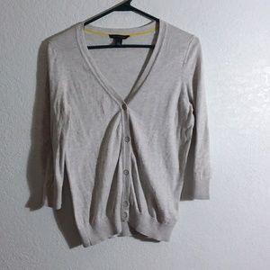 Light weight gray cardigan medium